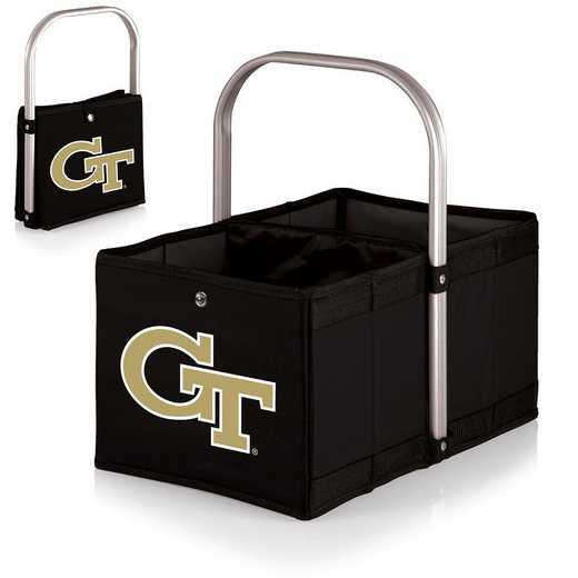 546-00-179-194-0: Georgia Tech Yellow Jackets - Urban Basket (Black)