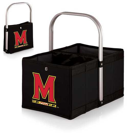 546-00-179-314-0: Maryland Terrapins - Urban Basket (Black)
