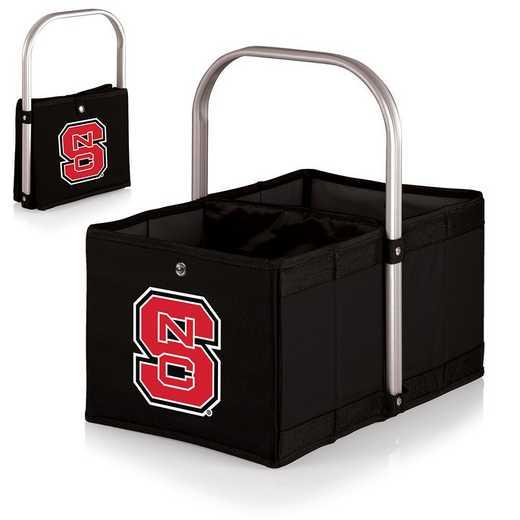546-00-179-424-0: NC State Wolfpack - Urban Basket (Black)