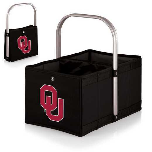 546-00-179-454-0: Oklahoma Sooners - Urban Basket (Black)