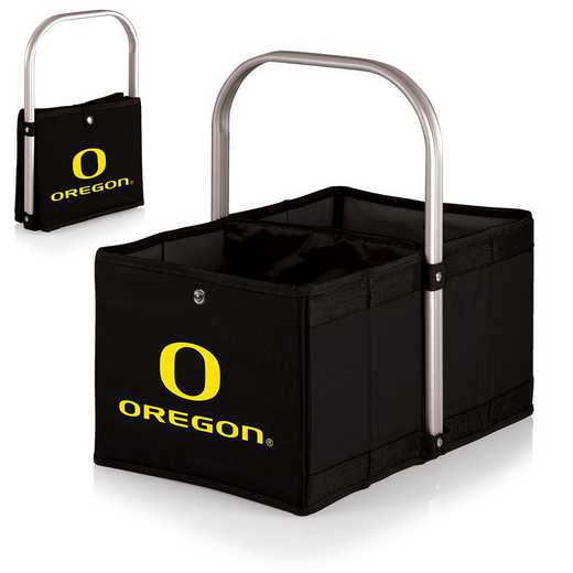 546-00-179-474-0: Oregon Ducks - Urban Basket (Black)