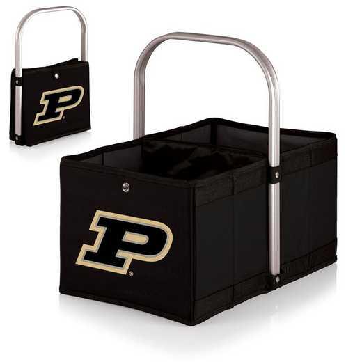 546-00-179-514-0: Purdue Boilermakers - Urban Basket (Black)