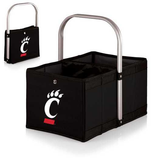 546-00-179-664-0: Cincinnati Bearcats - Urban Basket (Black)