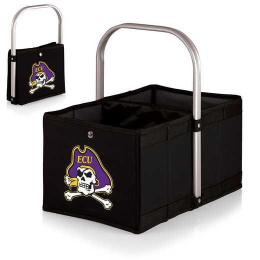 546-00-179-874-0: East Carolina Pirates - Urban Basket (Black)
