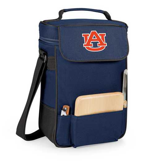 623-04-138-044-0: Auburn Tigers - Duet Wine / Cheese Tote (Navy)