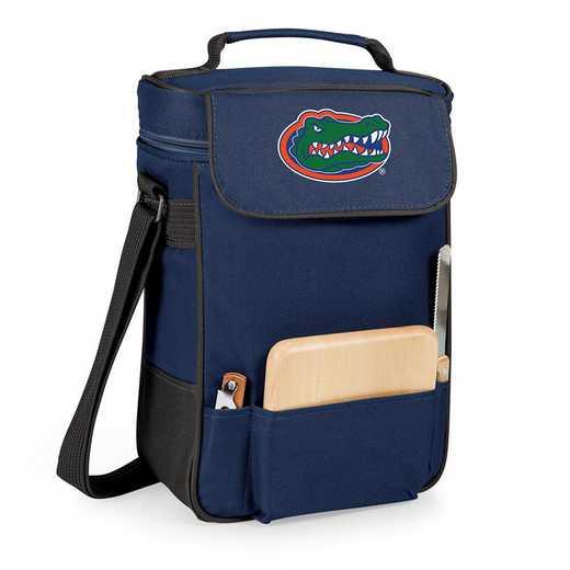 623-04-138-164-0: Florida Gators - Duet Wine / Cheese Tote (Navy)
