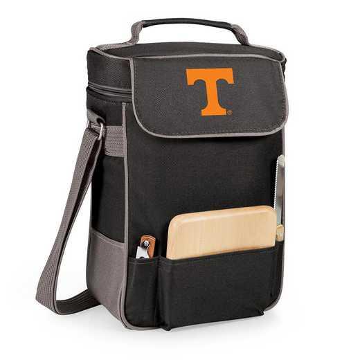 623-04-175-554-0: Tennessee Volunteers - Duet Wine / Cheese Tote (Black)