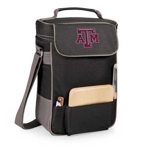 623-04-175-564-0: Texas A&M Aggies - Duet Wine / Cheese Tote (Black)