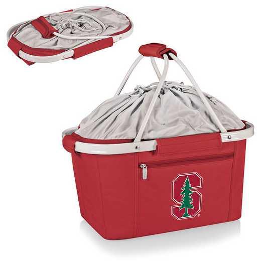 645-00-100-534-0: Stanford Cardinal - Metro Basket Cllpsbl Tote (Red)