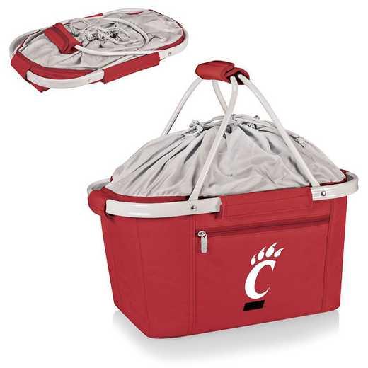645-00-100-664-0: Cincinnati Bearcats - Metro Basket Cllpsbl Tote (Red)
