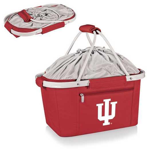 645-00-100-674-0: Indiana Hoosiers - Metro Basket Cllpsbl Tote (Red)