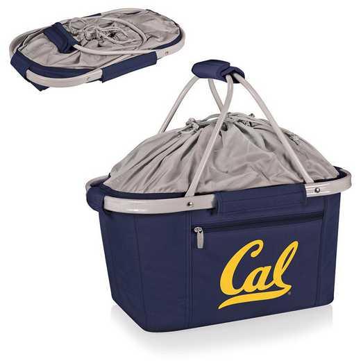 645-00-138-074-0: Cal Bears - Metro Basket Cllpsbl Tote (Navy)
