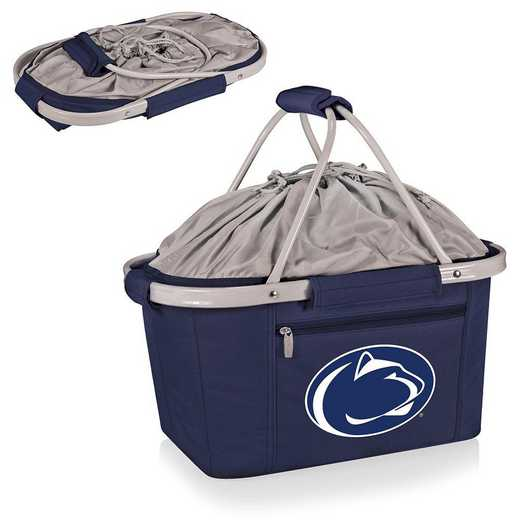 645-00-138-494-0: Penn State Nittany Lions - Metro Basket Cllpsbl Tote (Navy)