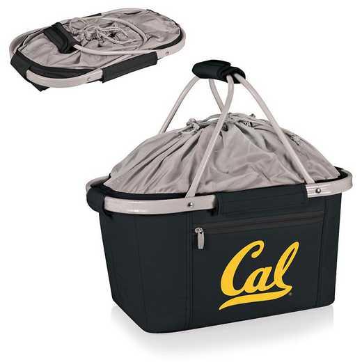 645-00-175-074-0: Cal Bears - Metro Basket Cllpsbl Tote (Black)