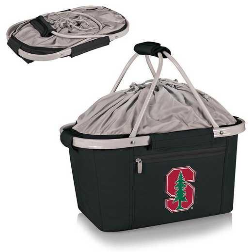 645-00-175-534-0: Stanford Cardinal - Metro Basket Cllpsbl Tote (Black)