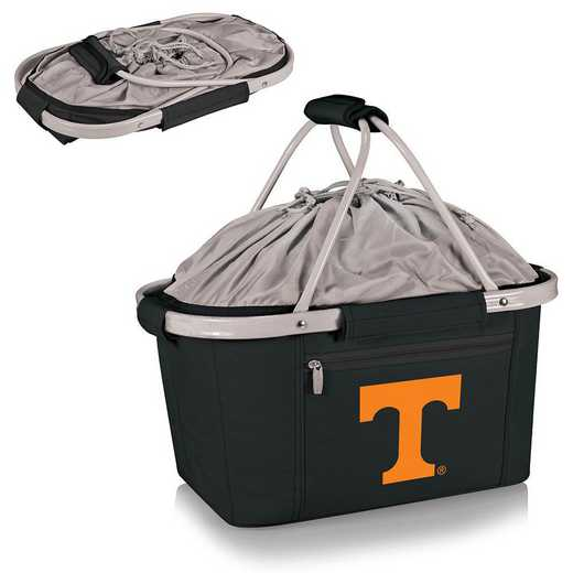 645-00-175-554-0: Tennessee Volunteers - Metro Basket Cllpsbl Tote (Black)