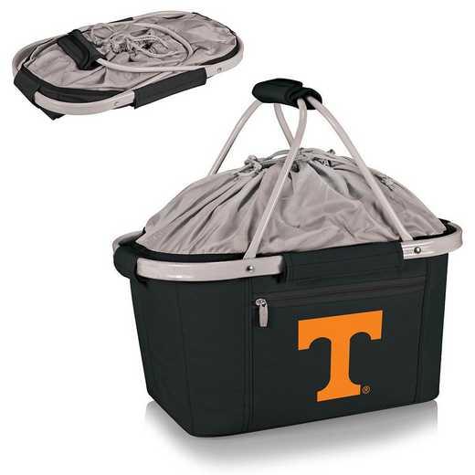 645-00-175-554-0: Tennessee Volunteers - Metro Basket Cllpsbl Tote (Black)