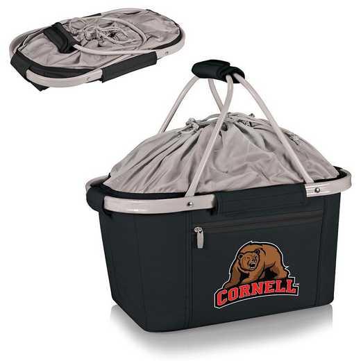 645-00-175-684-0: Cornell Big Red - Metro Basket Cllpsbl Tote (Black)