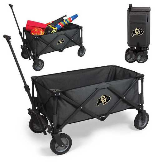 739-00-679-124-0: Colorado Buffaloes - Adventure Wagon (Dark Grey)
