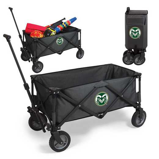 739-00-679-134-0: Colorado State Rams - Adventure Wagon (Dark Grey)