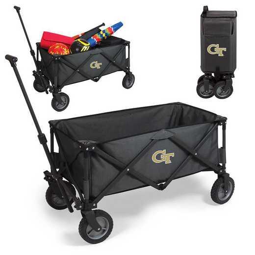 739-00-679-194-0: Georgia Tech Yellow Jackets - Adventure Wagon (Dark Grey)