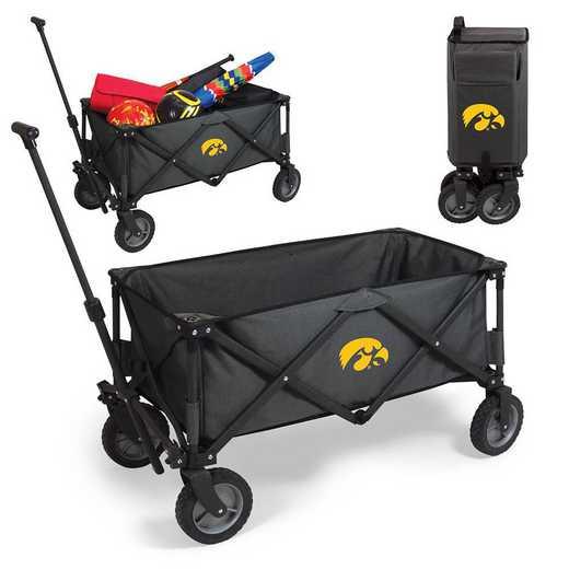 739-00-679-224-0: Iowa Hawkeyes - Adventure Wagon (Dark Grey)