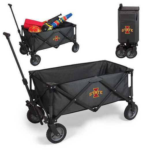 739-00-679-234-0: Iowa State Cyclones - Adventure Wagon (Dark Grey)