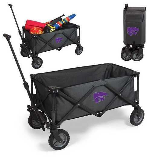 739-00-679-254-0: Kansas State Wildcats - Adventure Wagon (Dark Grey)
