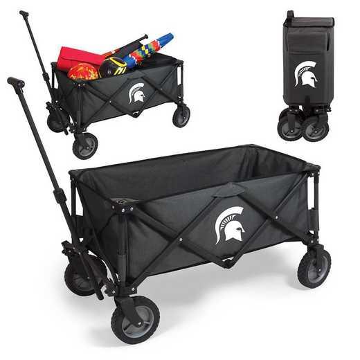 739-00-679-354-0: Michigan State Spartans - Adventure Wagon (Dark Grey)