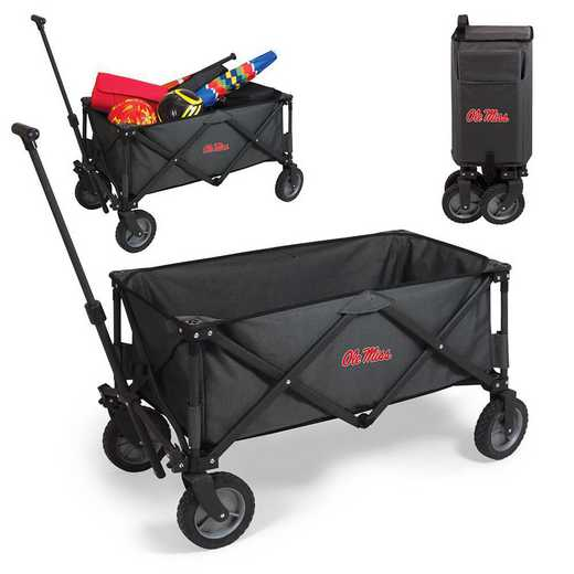 739-00-679-374-0: Ole Miss Rebels - Adventure Wagon (Dark Grey)
