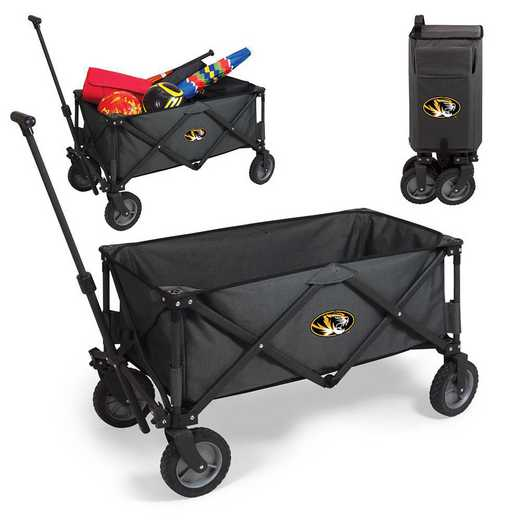 739-00-679-394-0: Mizzou Tigers - Adventure Wagon (Dark Grey)