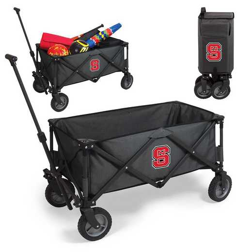 739-00-679-424-0: NC State Wolfpack - Adventure Wagon (Dark Grey)