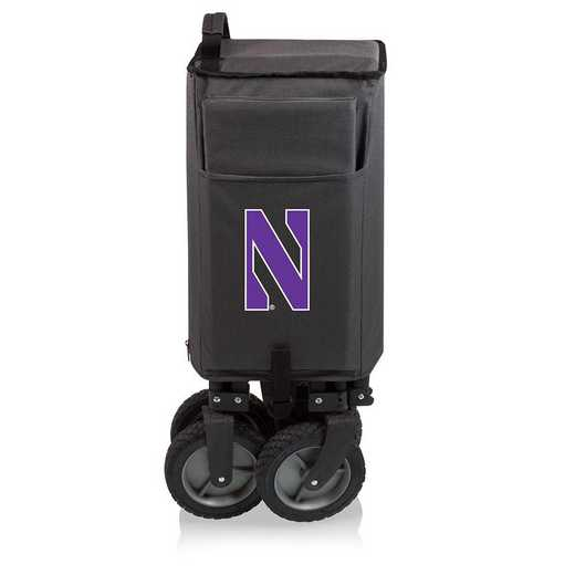 739-00-679-434-0: Northwestern Wildcats - Adventure Wagon (Dark Grey)