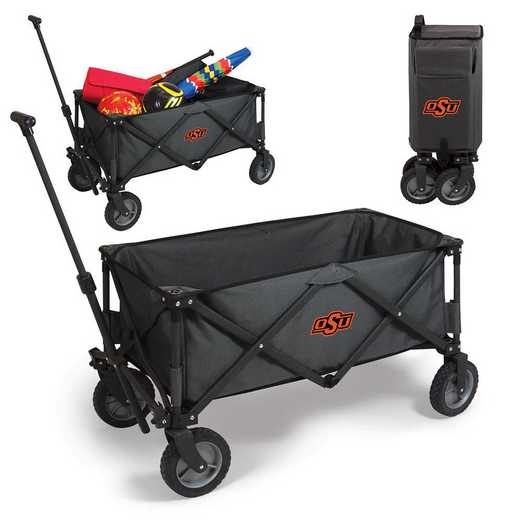739-00-679-464-0: Oklahoma State Cowboys - Adventure Wagon (Dark Grey)