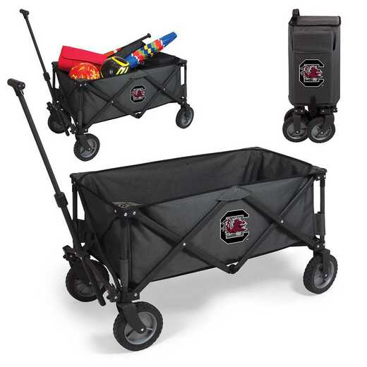 739-00-679-524-0: South Carolina Gamecocks - Adventure Wagon (Dark Grey)