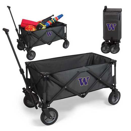 739-00-679-624-0: Washington Huskies - Adventure Wagon (Dark Grey)