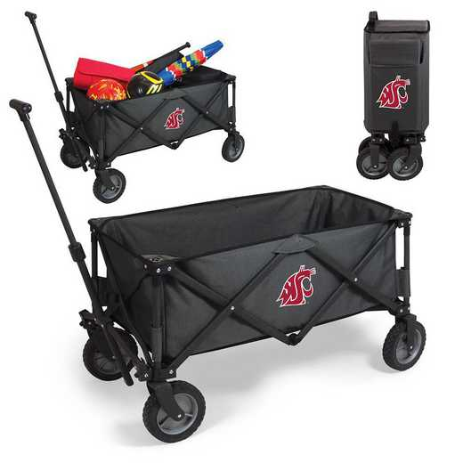 739-00-679-634-0: Washington State Cougars - Adventure Wagon (Dark Grey)