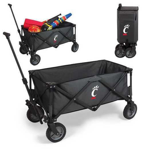 739-00-679-664-0: Cincinnati Bearcats - Adventure Wagon (Dark Grey)