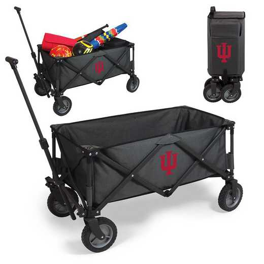 739-00-679-674-0: Indiana Hoosiers - Adventure Wagon (Dark Grey)