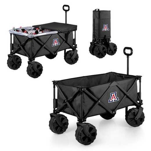 741-85-679-014-0: Arizona Wildcats - Adventure Wagon Elite (Dark Grey)