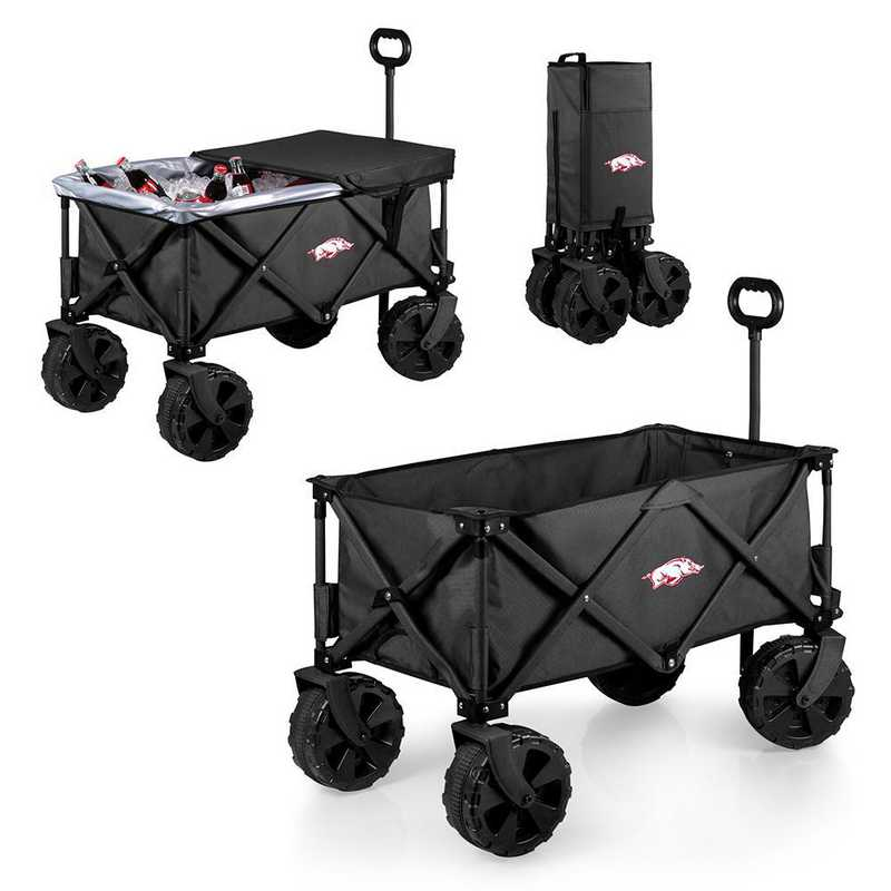 741-85-679-034-0: Arkansas Razorbacks - Adventure Wagon Elite (Dark Grey)