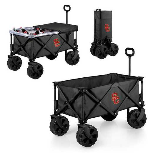 741-85-679-094-0: USC Trojans - Adventure Wagon Elite (Dark Grey)