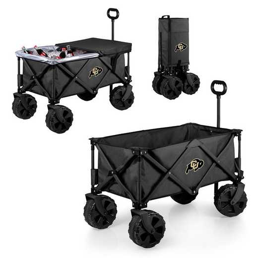 741-85-679-124-0: Colorado Buffaloes - Adventure Wagon Elite (Dark Grey)