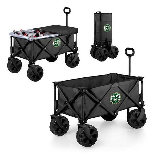 741-85-679-134-0: Colorado State Rams - Adventure Wagon Elite (Dark Grey)