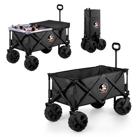 741-85-679-174-0: Florida State Seminoles - Adventure Wagon Elite (Dark Grey)
