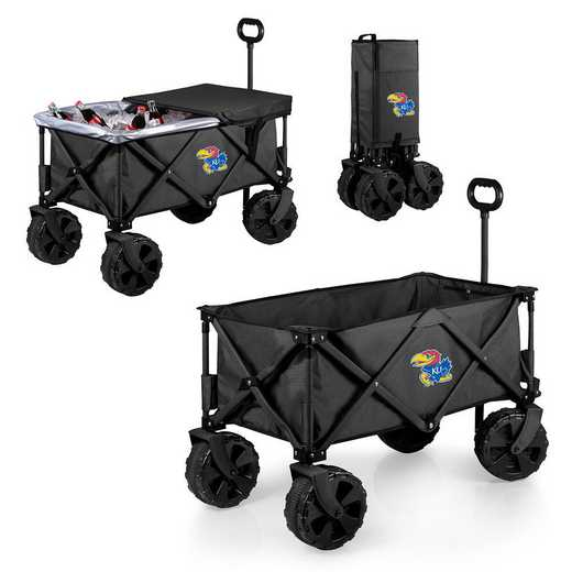 741-85-679-244-0: Kansas Jayhawks - Adventure Wagon Elite (Dark Grey)
