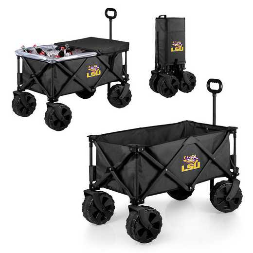 741-85-679-294-0: LSU Tigers - Adventure Wagon Elite (Dark Grey)