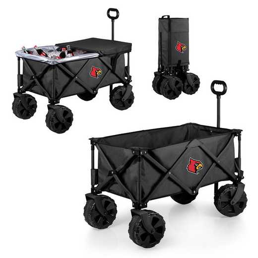 741-85-679-304-0: Louisville Cardinals - Adventure Wagon Elite (Dark Grey)