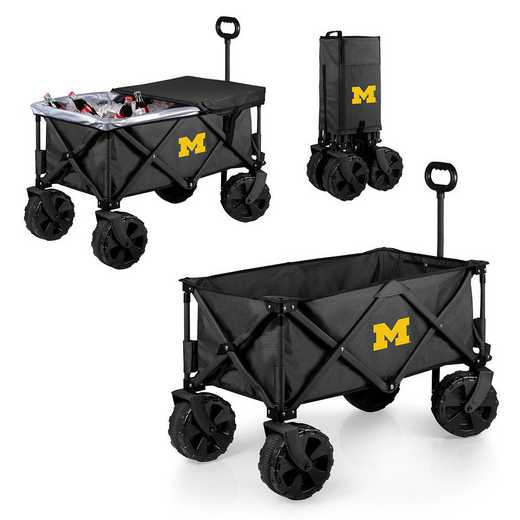 741-85-679-344-0: Michigan Wolverines - Adventure Wagon Elite (Dark Grey)