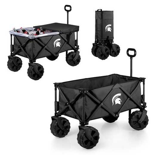 741-85-679-354-0: Michigan State Spartans - Adventure Wagon Elite (Dark Grey)